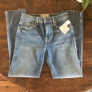 Free People - Light Blue Bootcut Jeans.